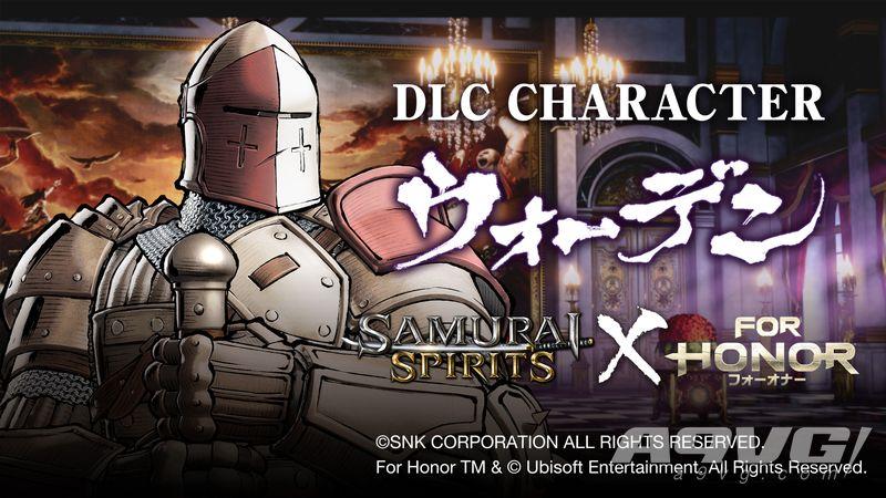 """《侍魂 晓》新DLC角色""""看守者""""公开 出自《荣耀战魂》"""