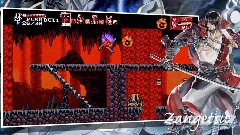 《赤痕 月之诅咒2》正式发表 可操作斩月等四位角色