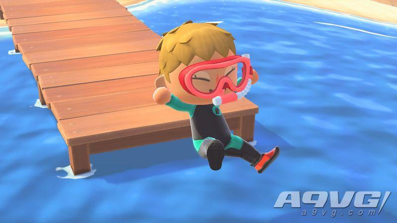 《集合啦!动物森友会》夏季更新第一波7月3日推出 可以游泳潜水