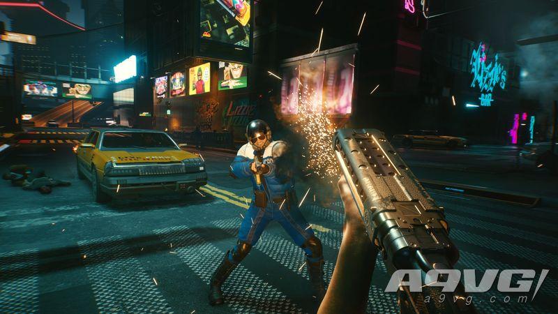 《赛博朋克2077》全新截图、原画、角色渲染图公开 多样性十足
