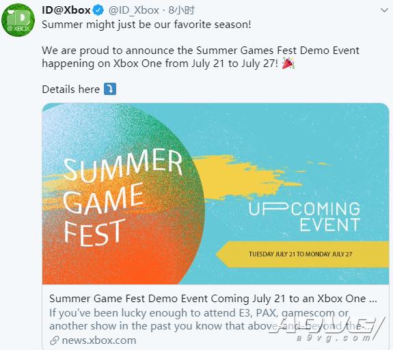 微软宣布将于7月21日-27日提供大量Xbox One游戏试玩