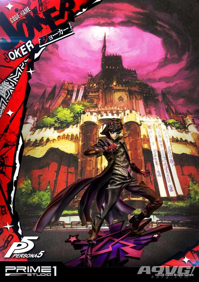 Prime 1 Studio《女神异闻录5》主人公Joker 1/4雕像今日开订