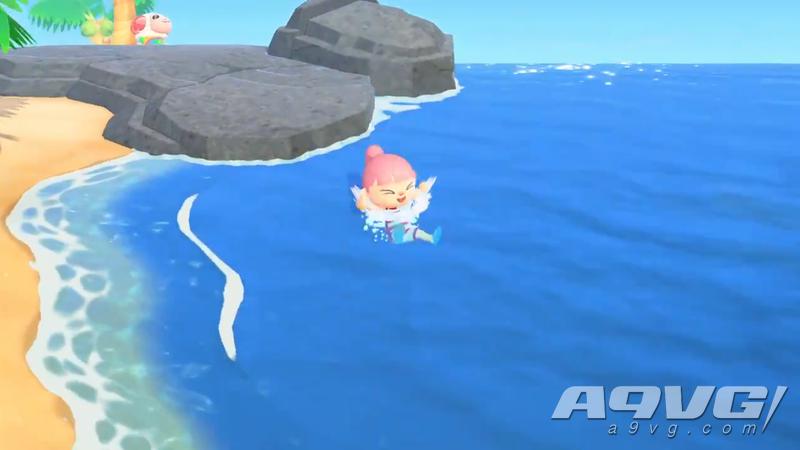 《集合啦!动物森友会》潜水方法 《动物之森》怎么潜水