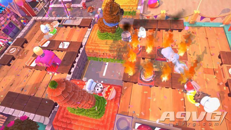 《胡闹厨房2》全新免费更新现已登陆Steam 增加新关卡/菜谱等