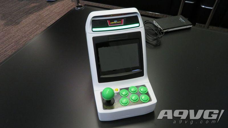 世嘉将推出Astro City Mini迷你街机 内置36款游戏年底发售