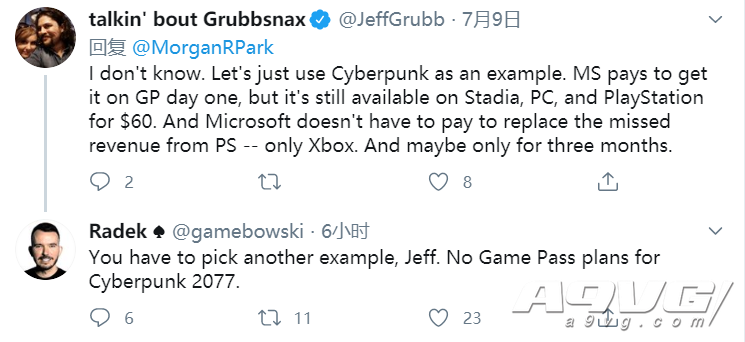 CDPR表示《賽博朋克2077》不會在首發時加入Xbox Game Pass