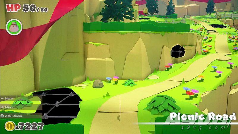 《纸片马力欧 折纸国王》树屋直播30分钟实机游玩演示公开