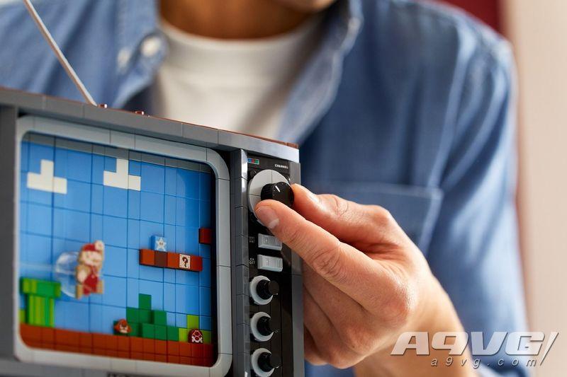 任天堂正式公开乐高NES宣传视频和实物图 8月1日推出