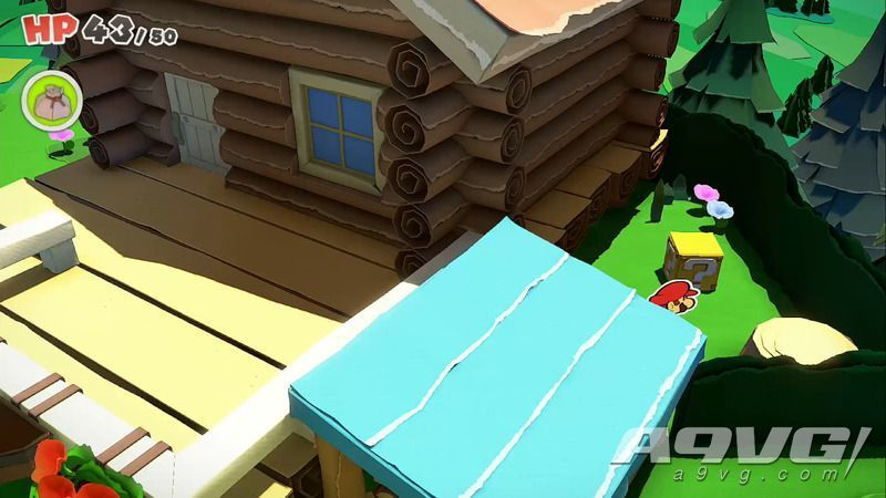 《纸片马力欧 折纸国王》流程图文攻略桃花公主城堡