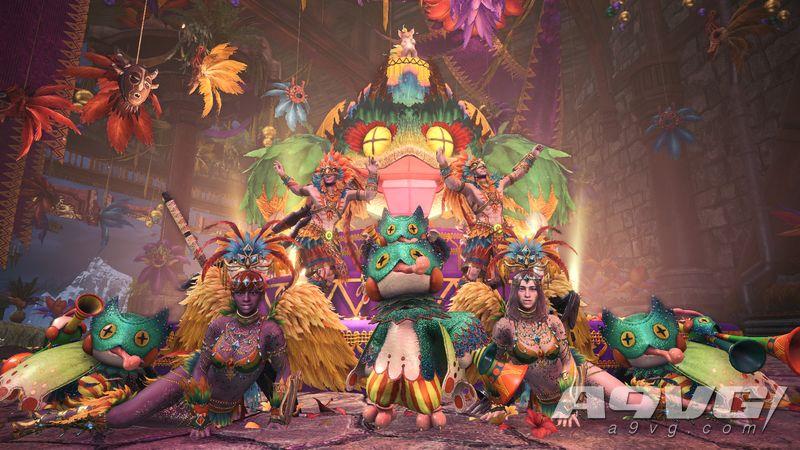 《怪物猎人世界 Iceborne》新活动「热情之宴」7月22日开启