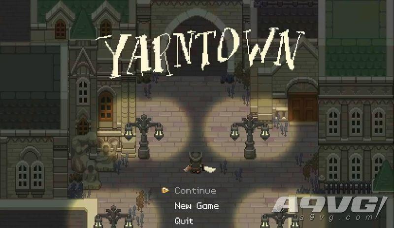 同人作品《Yarntown》游戏演示:《血源》×《塞尔达》