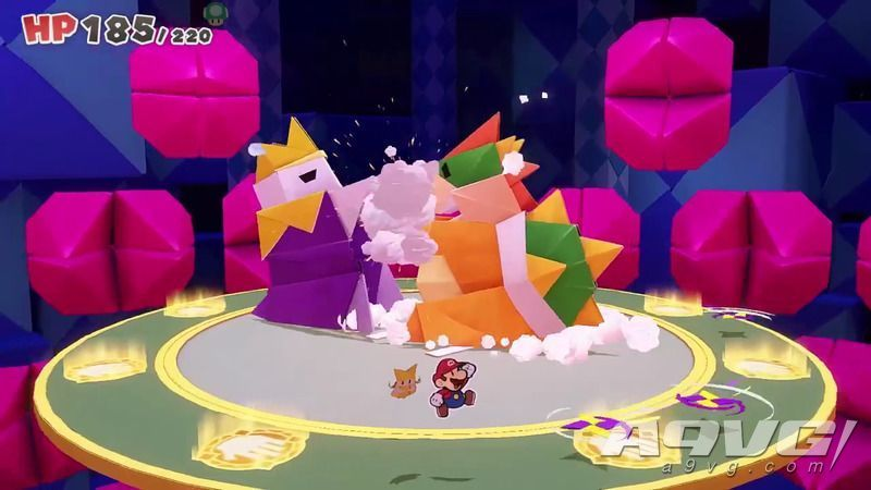 《纸片马力欧 折纸国王》最终BOSS三阶段打法攻略