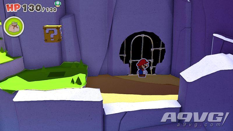 《纸片马力欧 折纸国王》流程图文攻略紫色神祇胶带骷髅岛