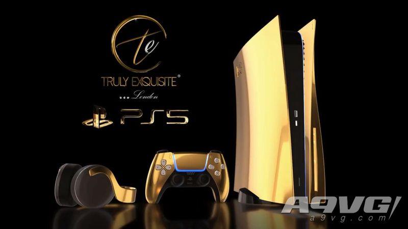 24K黄金版超限量PS5套装将于今年12月推出 还有玫瑰金和白金版