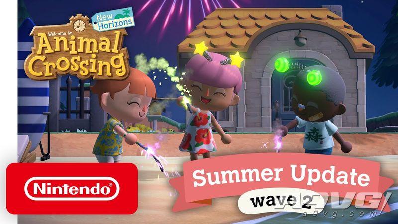 《集合啦!动物森友会》夏季更新第二波 烟火大会、梦番地等