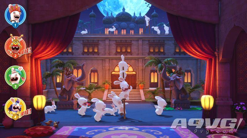 《疯狂兔子 奇遇派对》试玩版现已正式登陆国行Switch平台