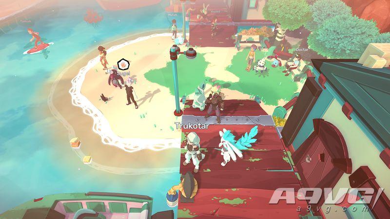 多人线上游戏《Temtem》将于2021年内登陆PS5与XSX平