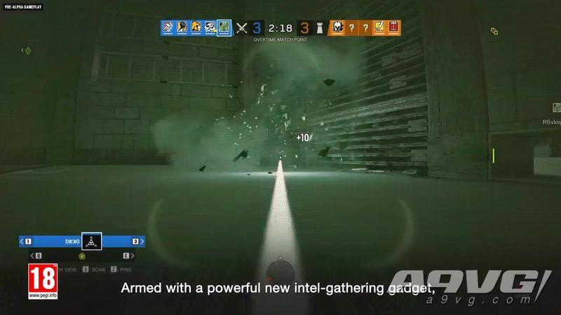 《彩虹六号 围攻》山姆・费舍尔详细参战信息及试玩视频