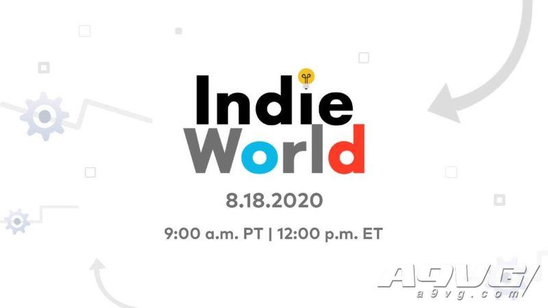 任天堂将于8月19日0点播出独立游戏直面会 时长约20分钟