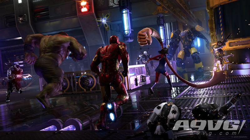 《漫威复仇者联盟》新直播将于9月2日开始 展示发售后内容更新