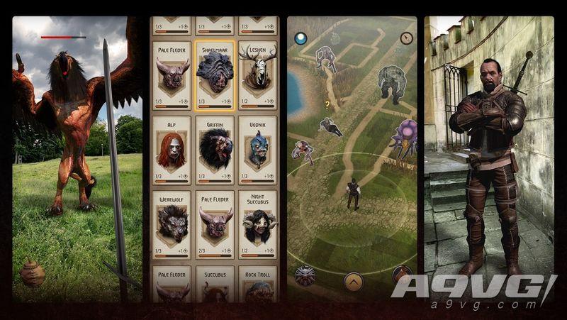 AR手游《巫师 魔物猎杀者》将于今年晚些时候登陆iOS和Android