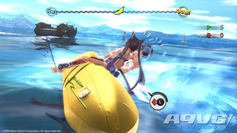 《英雄传说 创之轨迹》海滩度假小游戏敲西瓜香蕉船攻略