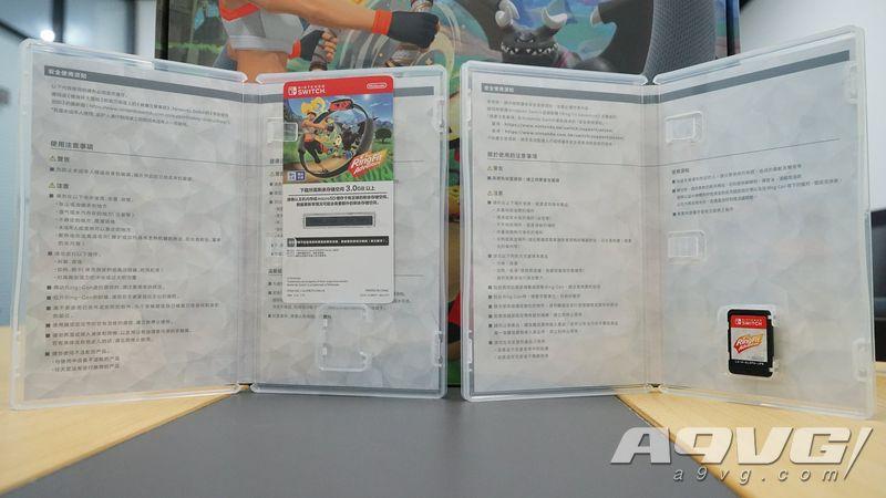 国行版《健身环大冒险》开箱与简介:国行Switch必备游戏