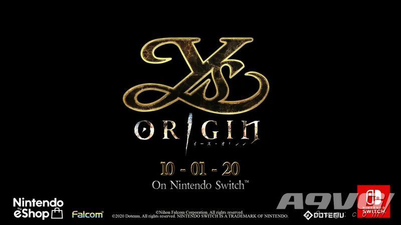 《伊苏 起源》Switch版发售具体时间公开 10月1日推出