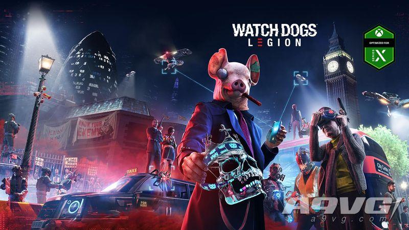 《看门狗:军团》将作为育碧登陆Xbox Series X/S的首发游戏