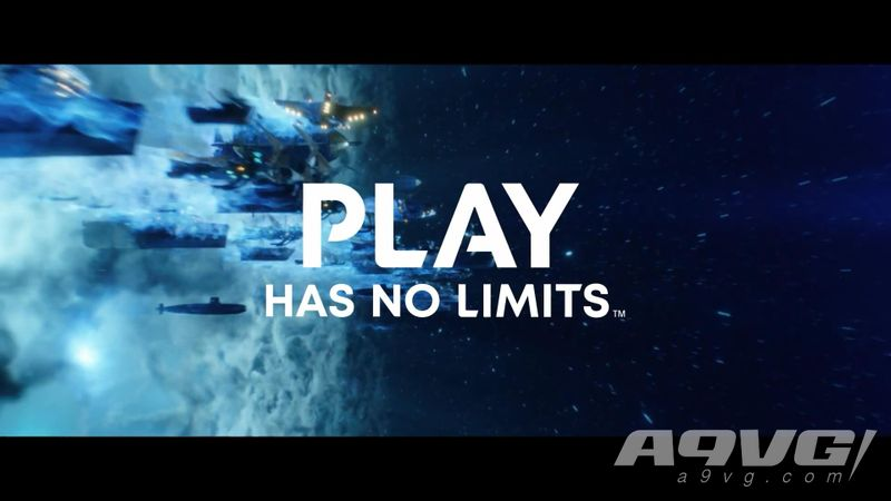 "索尼公开PS5全新广告""The Edge- Play Has No Limits"""
