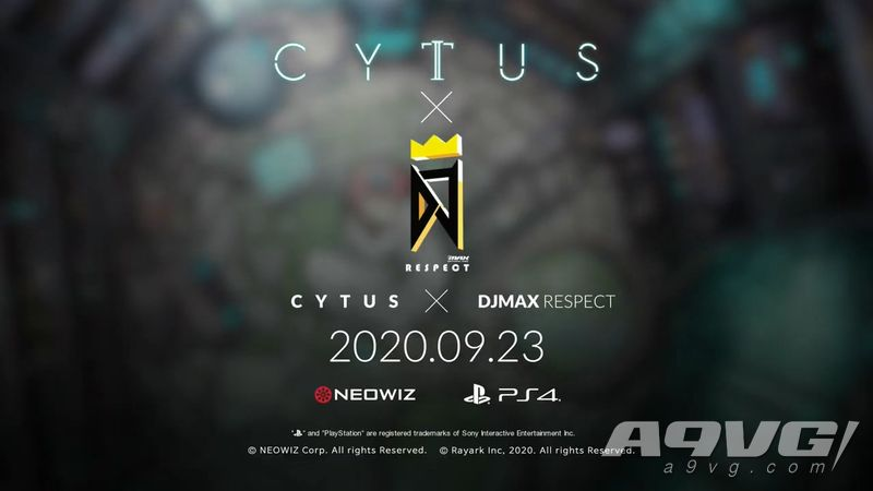 "《DJMAX 致敬》最新联动DLC""Cytus""曲包将于9月23日登陆PS4"