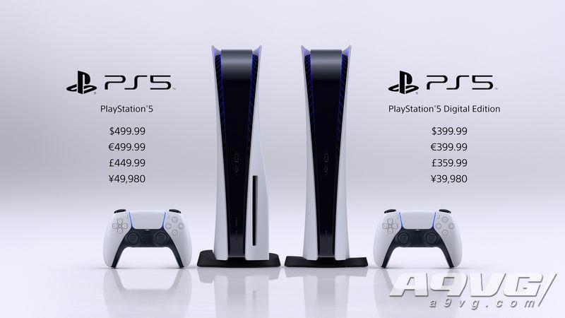 PS5发售日和售价确定!光驱版售价499美元 数字版价格399美元