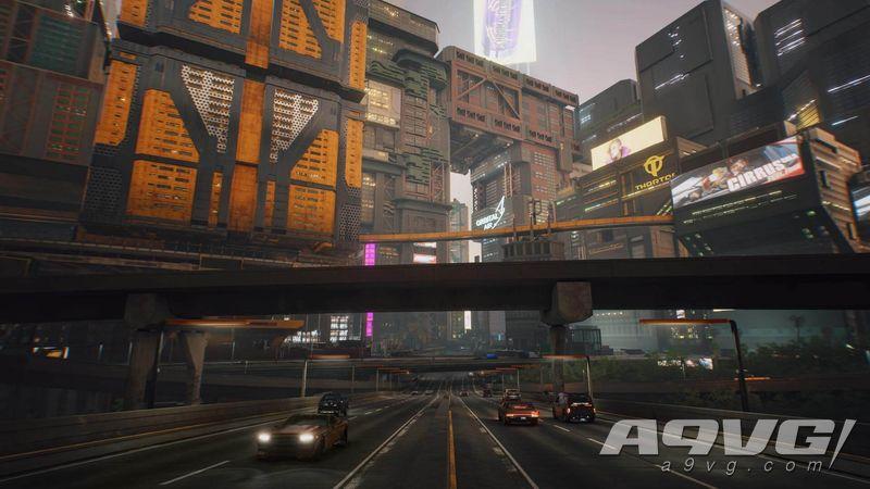 《赛博朋克2077》最新游戏截图公开 展示不同地区的面貌