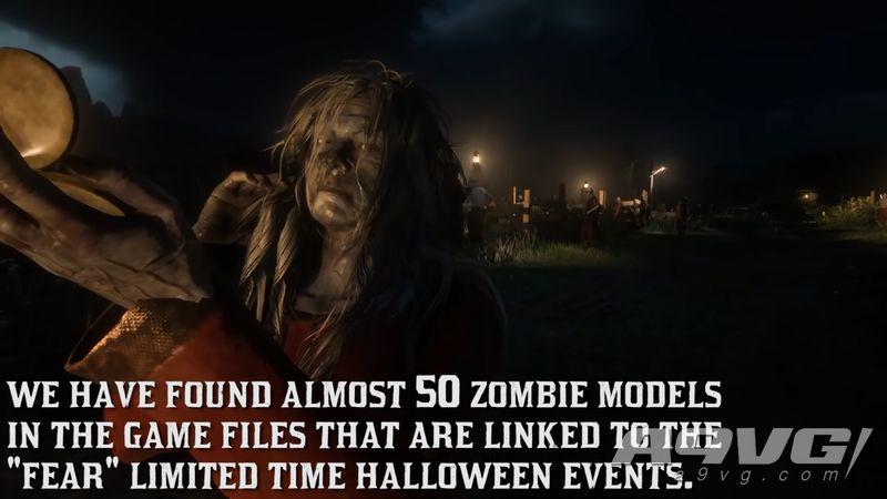 《荒野大镖客Online》发现僵尸模型 或有万圣节活