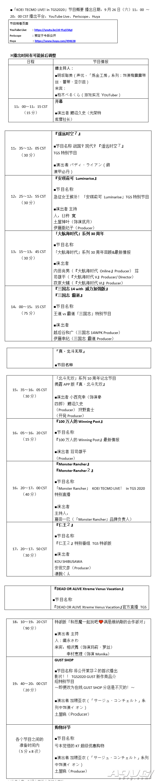 「KOEI TECMO LIVE! in TGS2020」 公布节目主持人&演出来宾!