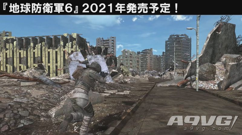 《地球防卫军6》公开两张全新截图 平台依旧未定