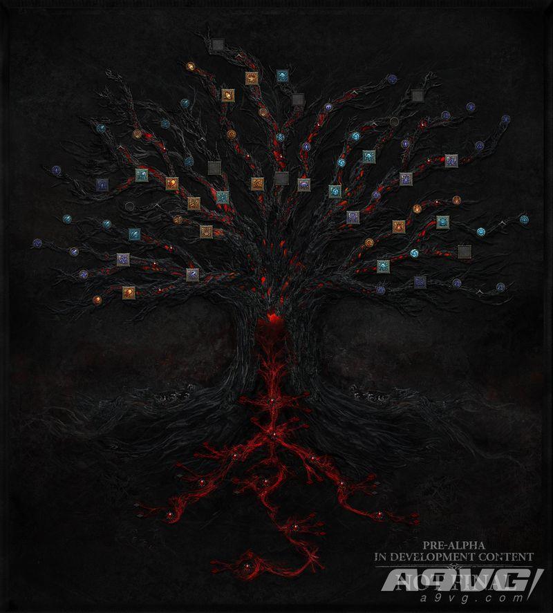 《暗黑破坏神4》新技能树介绍 女术士附魔系统公布