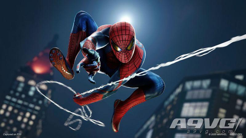 彼得帕克脸模更换 PS5《漫威蜘蛛侠 高清版》与PS4版对比