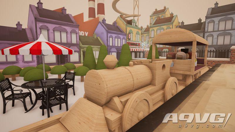 木质火车模拟游戏《轨道:模型游戏 玩具盒版》11月在NS推出