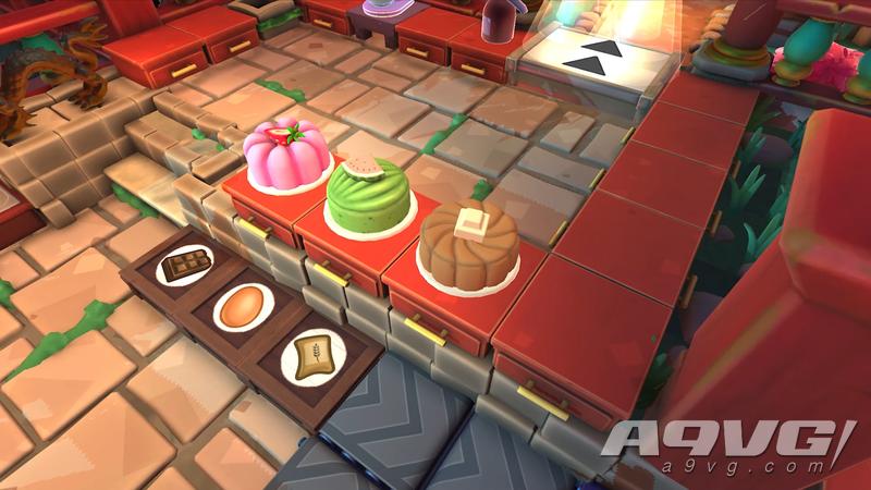 《胡闹厨房2》中秋节免费更新现已推出 可以做月饼了