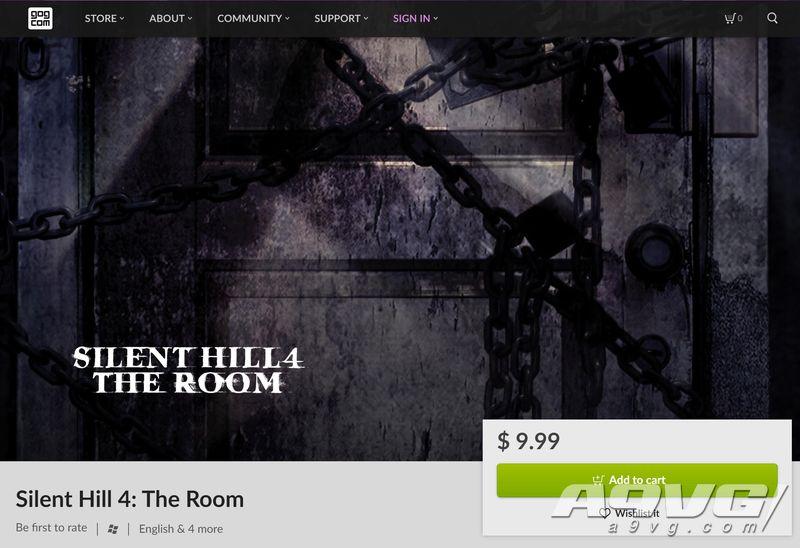 《寂静岭4:密室》现已登陆GOG平台 售价9.99美元