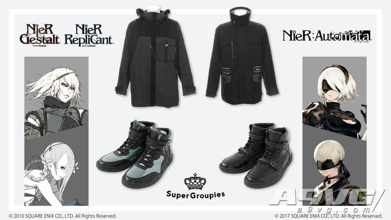SuperGroupies×《尼尔》系列联动新品发布 石川由依试穿宣传