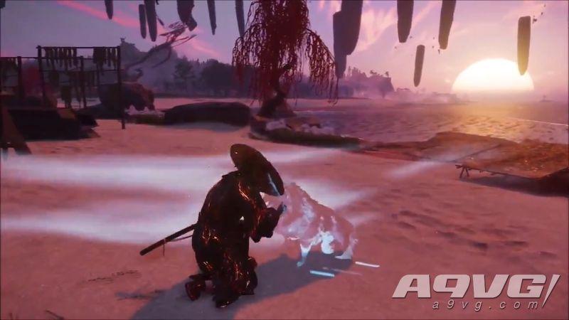 """《对马岛之魂》1.1版本中可以撸狗 """"奇谭""""中的幽灵狗也能摸"""