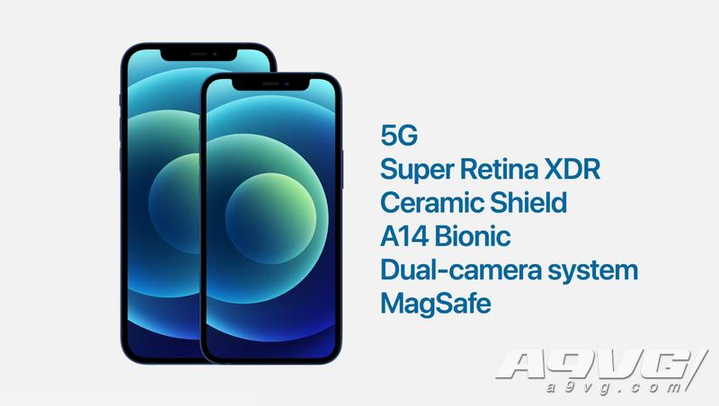 iPhone 12系列正式公布 首部支持5G网络的iPhone手机