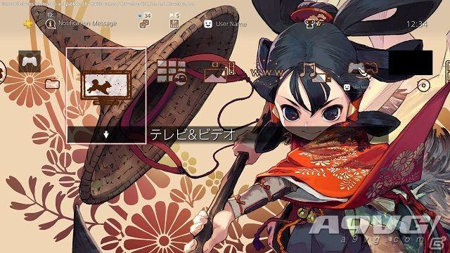 《天穗之咲稻姬》预购开启 PS商店预约特典PS4主题预览图公布