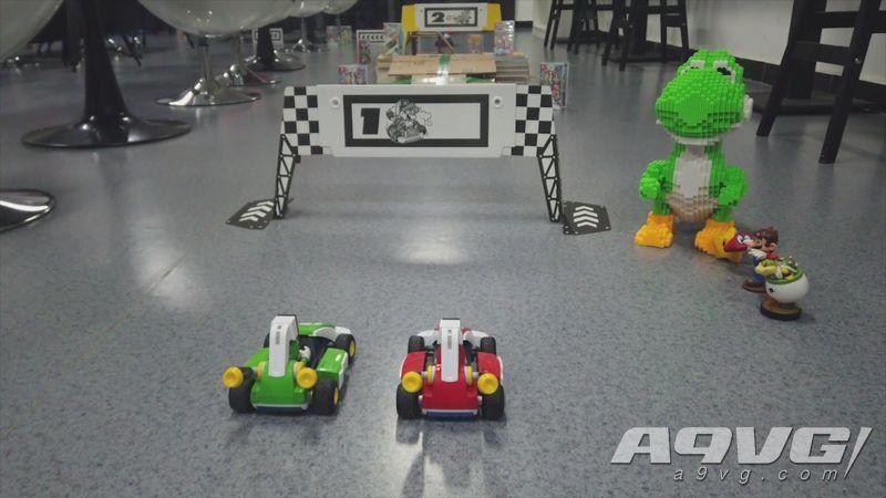 创造自己的赛道!《马力欧赛车实况:家庭赛车场》开箱与试玩