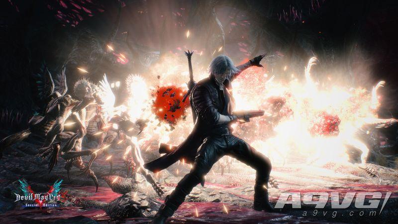 《鬼泣5 特别版》在微软商城公布了10张最新的截图