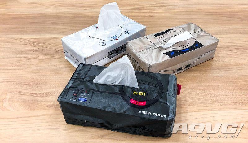 世嘉硬件主题抽纸盒扭蛋将于11月19日推出 分主机与手柄共六款