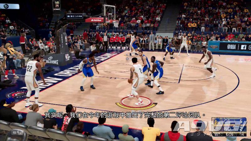 《NBA 2K21》公开次世代中文实机演示 展示快速读盘和新镜头