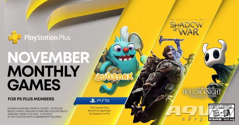 PS+会员2020年11月免费游戏汇总 Plus港服日服欧美服会免阵容
